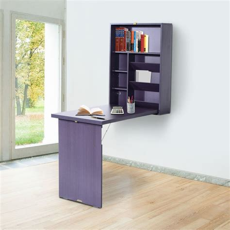 Wall Mounted Folding Desk by Compact Wall Mounted Desks Fold Out Desk