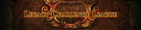 forum announcements the legacy challenge league path of exile