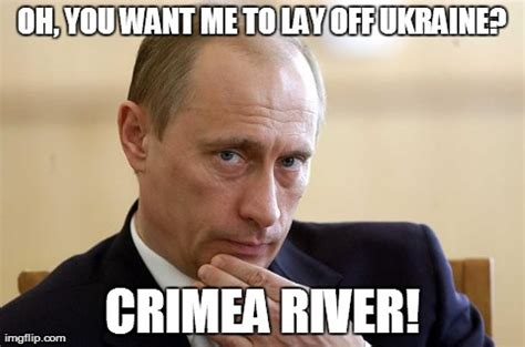 Ukraine Meme - putin you in your place imgflip