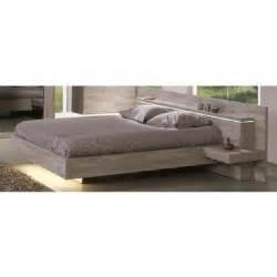 lit avec chevets integres achat vente lit avec chevets
