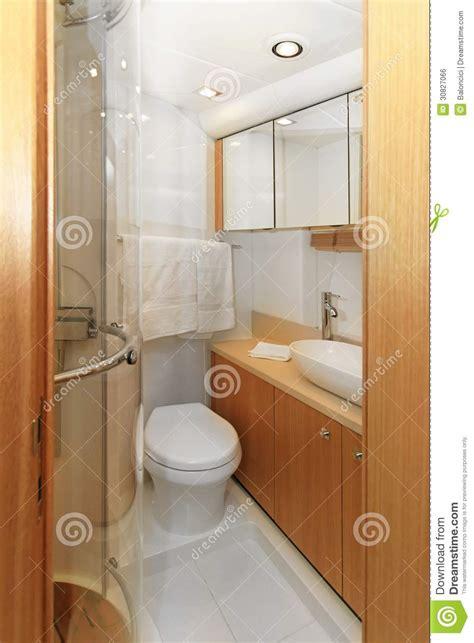 small boat bathroom yacht bathroom stock photo image of luxurious bowl