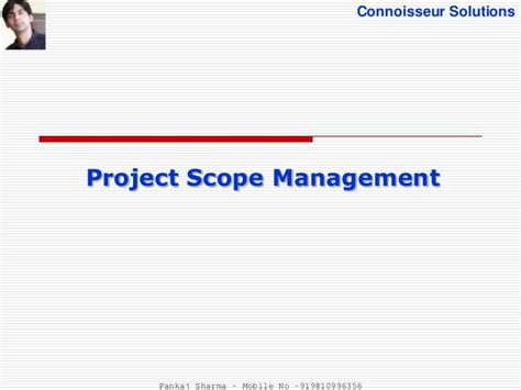 Mba In Information Management Scope by Project Scope Management Pmbok 5th Edition