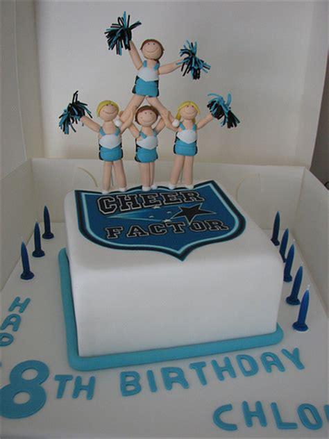 Cheerleading cake   Flickr   Photo Sharing!