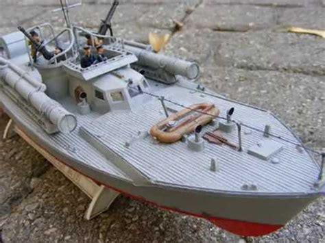 radio controlled mtb boats revell s british vosper mtb model static rc youtube