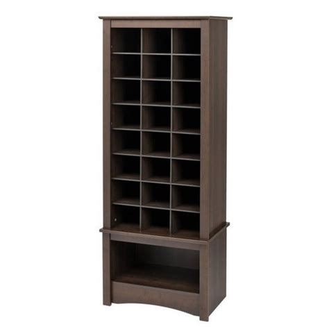 tall shoe rack cabinet prepac tall cubbie cabinet shoe rack ebay