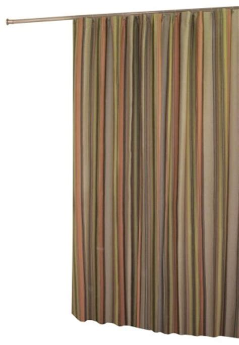 earth tone shower curtains purchase in style cocoa stripe shower curtain earth tone