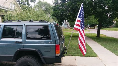 jeep cherokee american flag flag mounts page 2 jeep cherokee forum