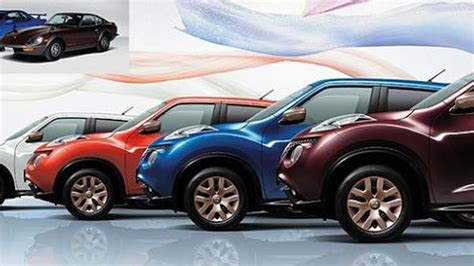 nissan special nissan juke 80th special color limited edition launched in