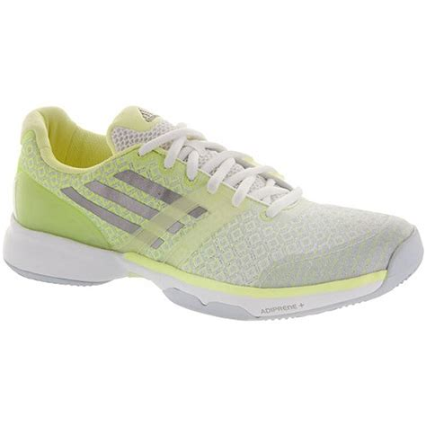 adidas s adizero ubersonic tennis shoes neon yellow