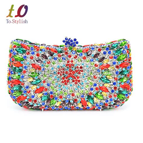 Miniso Clucth And Bag 1 stylish crown pattern clutches evening bag luxury