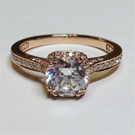 Gold Engagement Rings by Gold Engagement Rings Tacori Wedding Promise