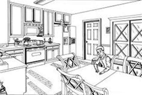 How To Draw A Dining Room by Ed Drawing On 528 Pins