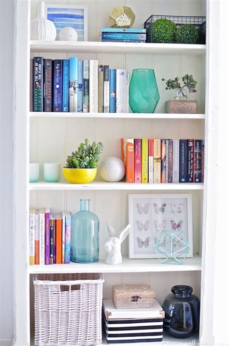 how to organize bookshelf 20 bookshelf ideas that will beautify your home shabbyfufu
