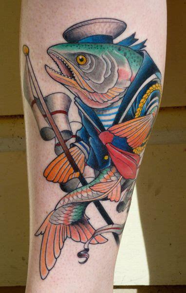 tattoo ikan naga cara desain 20 tattoo ikan dengan style berbeda beda
