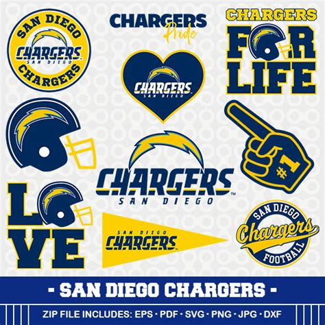 charger football live san diego chargers svg files football clipart svg cameo