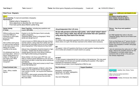 biography and autobiography year 3 year 6 literacy autobiography biography by mrlyons78