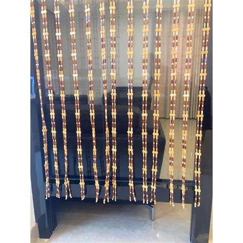 wooden beaded curtains wooden country beaded curtains for doors