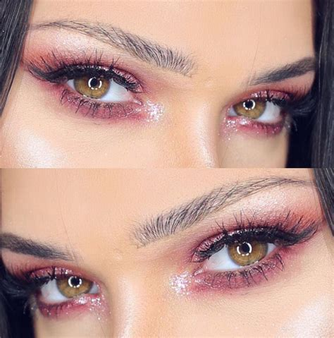 light pink glitter eyeshadow pink eyeshadow is a and feminine makeup trend