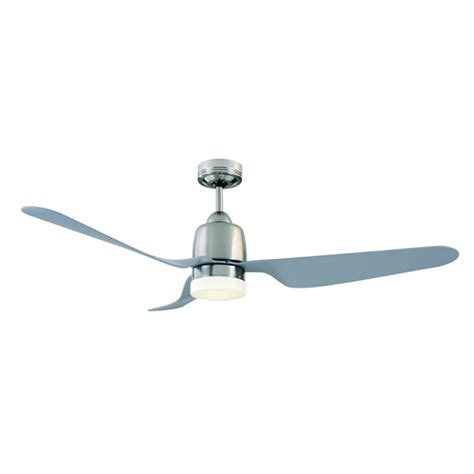 manly ceiling fan with light remote brushed chrome