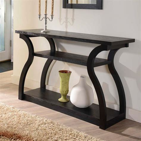 Unique Modern Wood Console Table Made From Reclaimed Wood Sofa Table Design