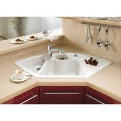 villeroy boch corner 1075mm x 600mm 2 5 bowl - Corner Kitchen Sinks