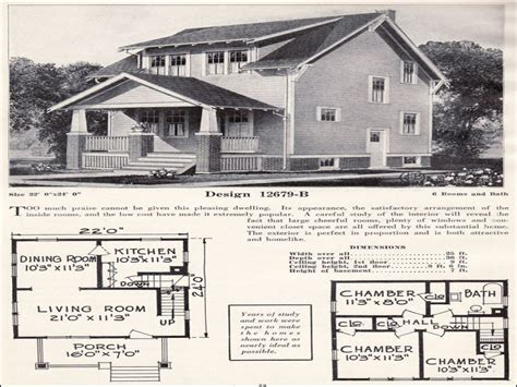 1920s bungalow floor plans 1920s craftsman bungalow house plans 1920 craftsman home