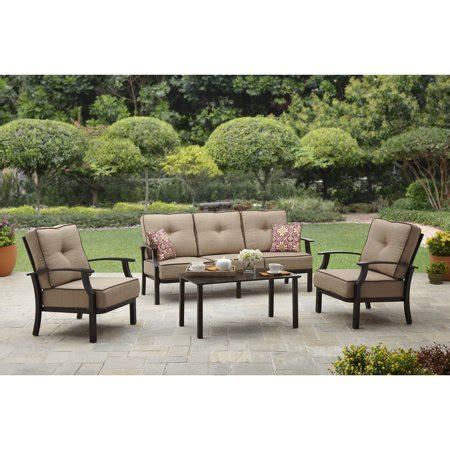 walmart better homes and gardens furniture better homes and gardens outdoor conversation set walmart