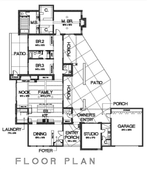 cliff may house plans cliff may inspired floor plan home pinterest