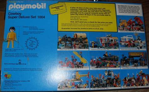 cowboy viking deluxe trade paperback playmobil set 1004 sch cowboy deluxe set