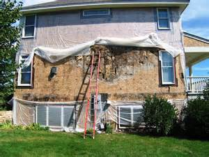 How To Make A Canopy Bed Without Posts to install stucco right include an air gap