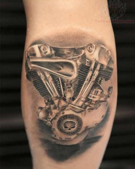 harley engine tattoo designs harley davidson piston garage