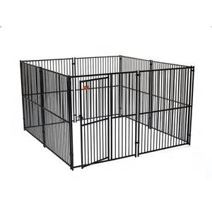 Backyards For Dogs Shop Lucky Dog 10 Ft X 10 Ft X 6 Ft Outdoor Dog Kennel