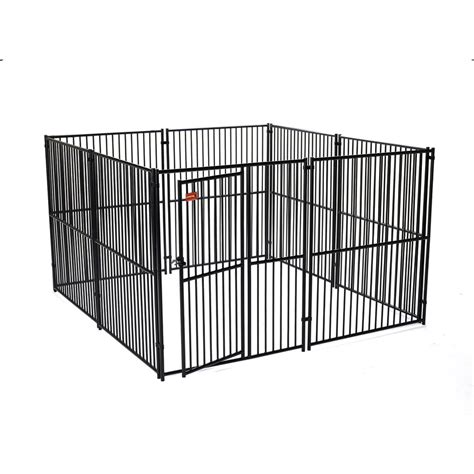 outdoor kennel shop lucky 10 ft x 6 ft outdoor kennel panels at lowes