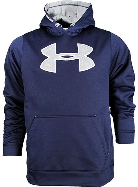 under armoir sweatshirts under armour coldgear big logo training hoodie