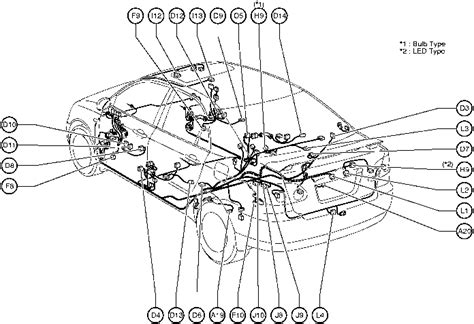 position of parts in toyota corolla 2004 wiring