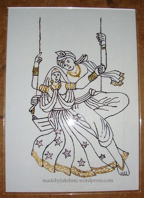 Drawing Outlines For Painting by Glass Painting Tutorial Ii M De By Lakshmim De By Lakshmi