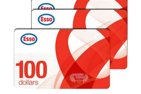 Shop And Save Gift Cards - shop ca 500 esso gift cards for 435 bargainmoose canada