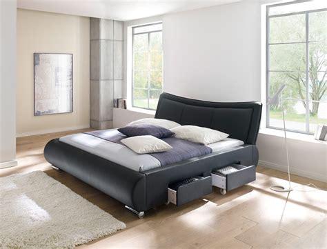 polsterbett lando bett 180x200 cm schwarz mit lattenrost - Günstige Schlafzimmer Komplett Mit Lattenrost Und Matratze