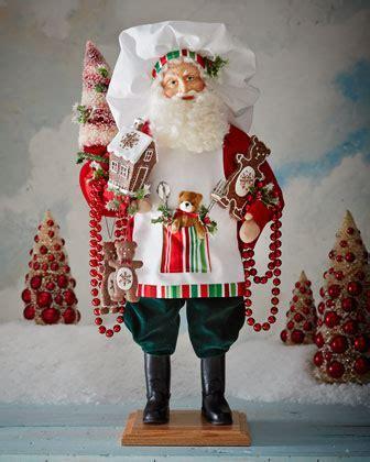 Lynn Haney Christmas Pastries Santa