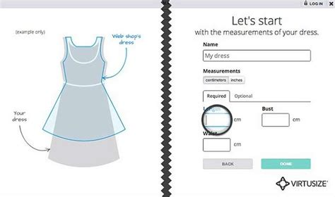 design your clothes app wordlesstech virtusize app shows how clothes will fit you