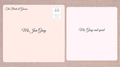 what goes on the inner envelope of a wedding invitation how to address wedding invitations southern living