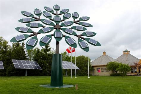 solar power tree world s largest solar tree iconography projects