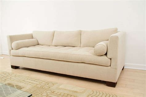 tuxedo style sofa art deco style tuxedo sofa with carved fluted legs at 1stdibs