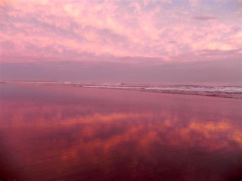 imagenes de paisajes violetas el mar y el cielo en rosa imagen foto paisajes mar y