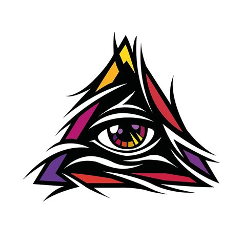 illuminati logo illuminati clipart tribal pencil and in color illuminati