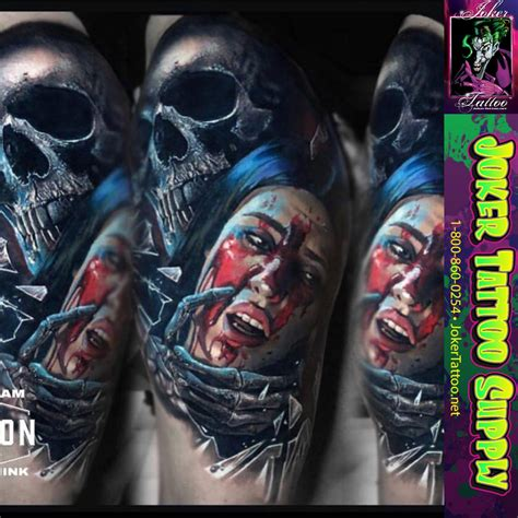 joker tattoo supply another amazing by eliot kohek using all fusion