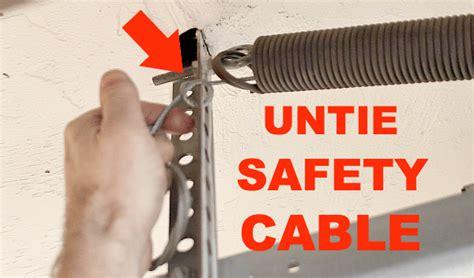 replace garage door extension springs   tips