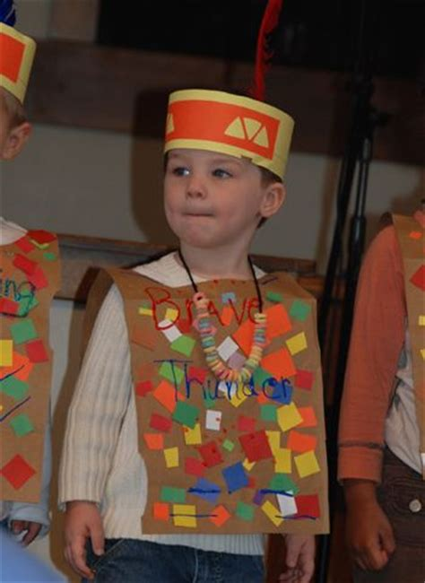preschool thanksgiving costumes indian vest just one 12 best images about paper bags on pinterest vests