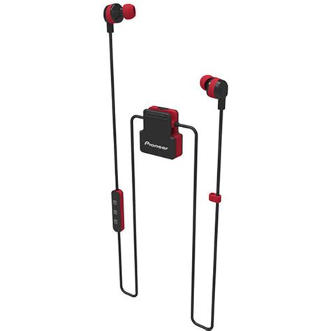 Earphone Log On Active pioneer clipwear active in ear headphones black secl5btr
