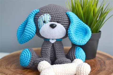 amigurumi pattern dog free domino the dog amigurumi crochet pattern by crochetkeke